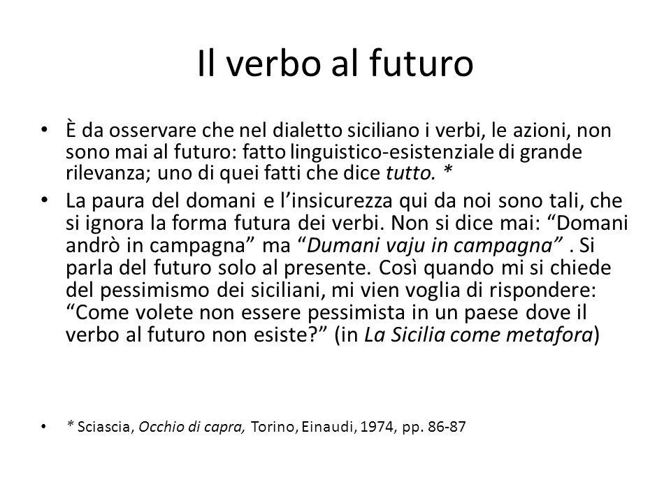 Il verbo al futuro