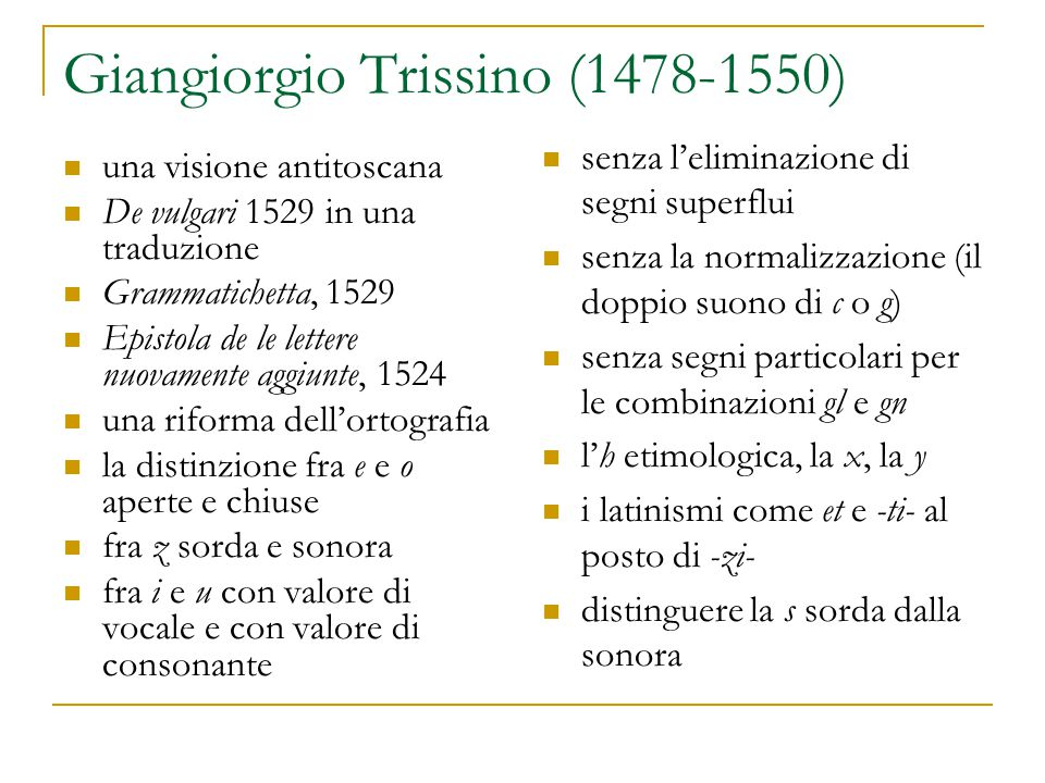 Giangiorgio Trissino (1478-1550)