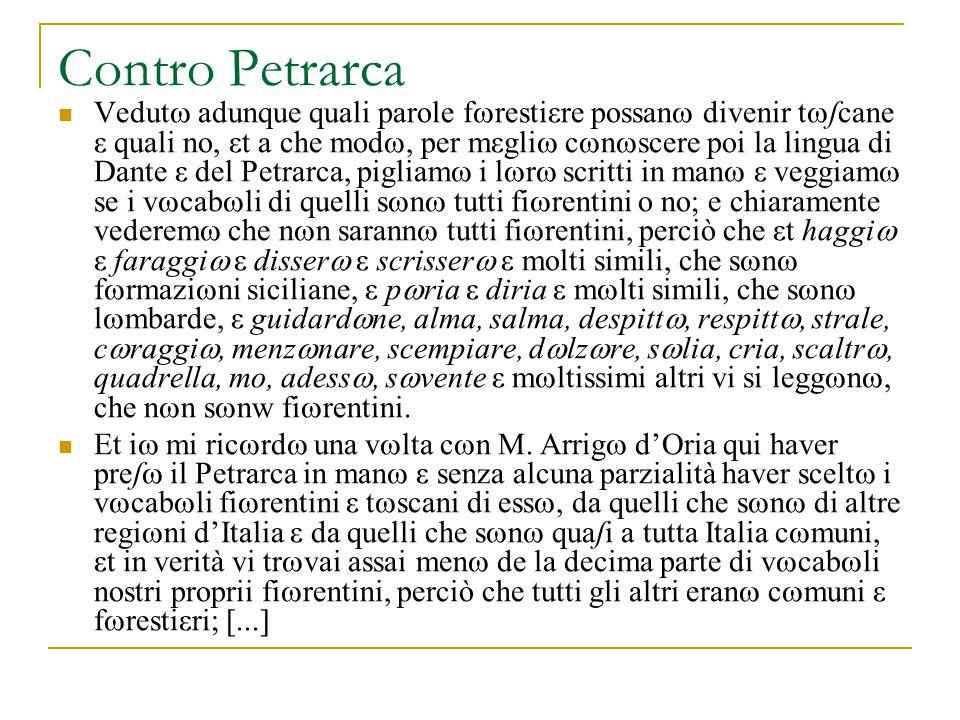 Contro Petrarca