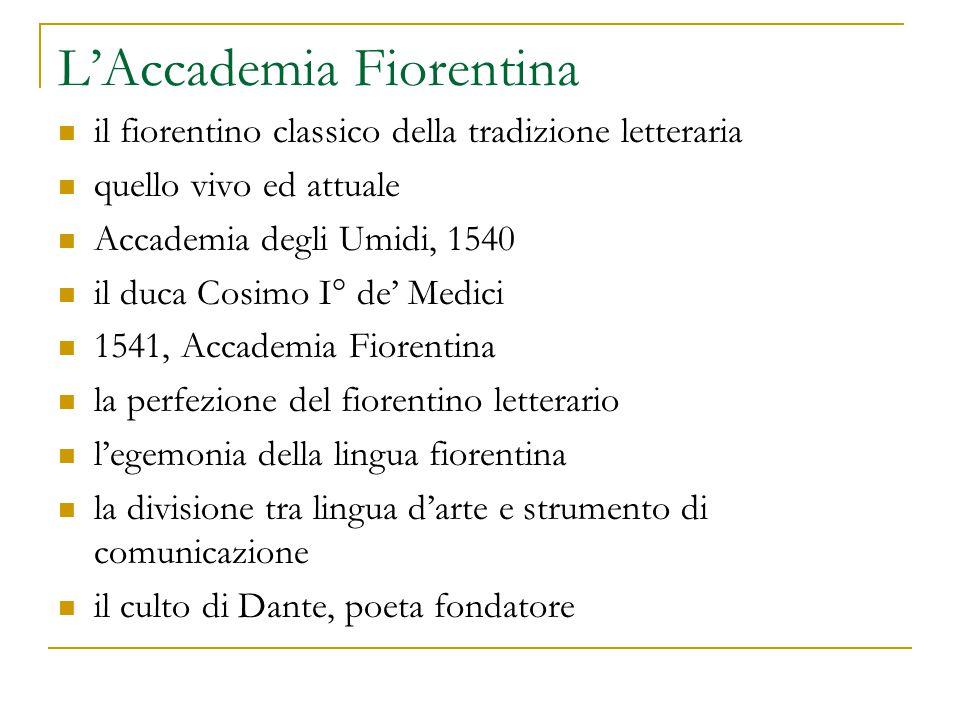 L'Accademia Fiorentina