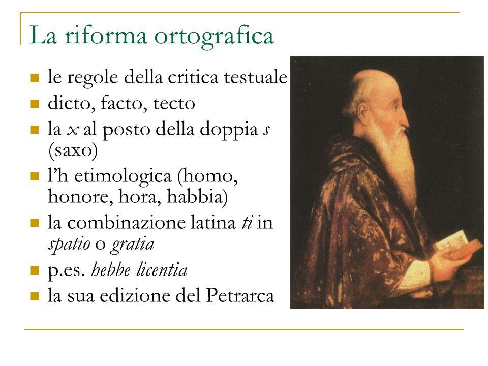 La riforma ortografica