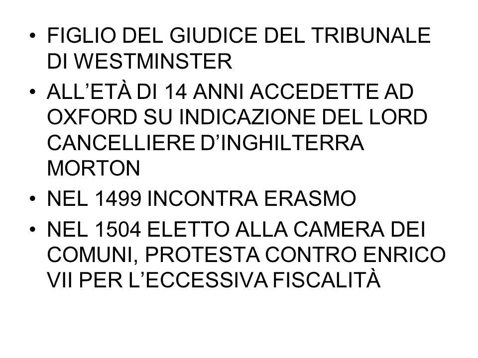 FIGLIO DEL GIUDICE DEL TRIBUNALE DI WESTMINSTER