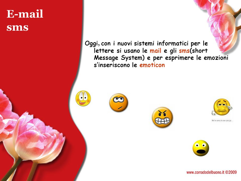 E-mail sms