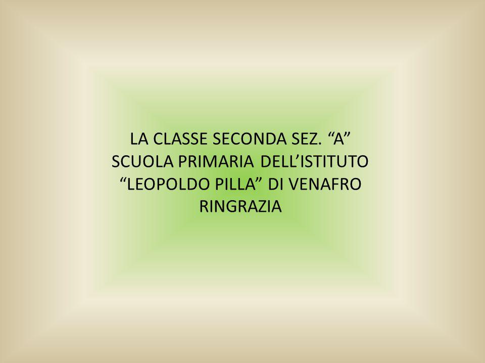 LA CLASSE SECONDA SEZ. A SCUOLA PRIMARIA DELL'ISTITUTO