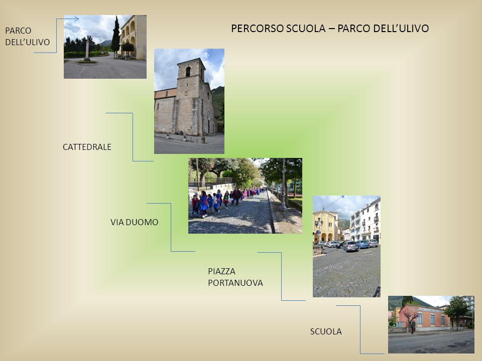 PERCORSO SCUOLA – PARCO DELL'ULIVO