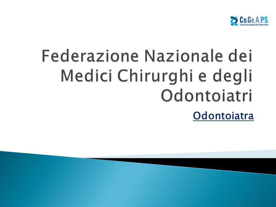 Federazione Nazionale dei Medici Chirurghi e degli Odontoiatri