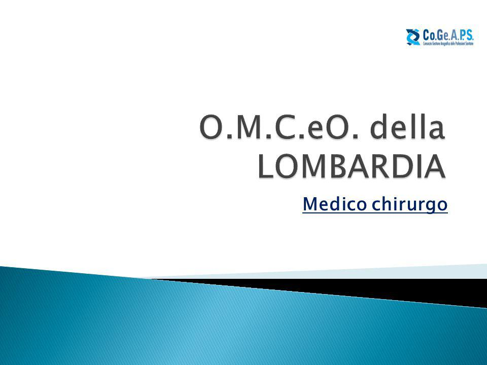 O.M.C.eO. della LOMBARDIA Medico chirurgo