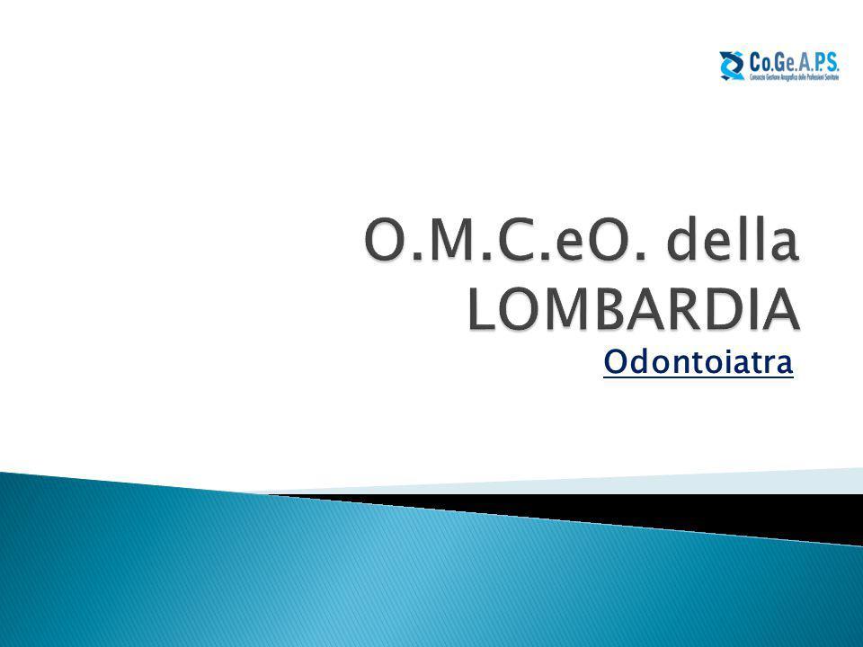 O.M.C.eO. della LOMBARDIA Odontoiatra