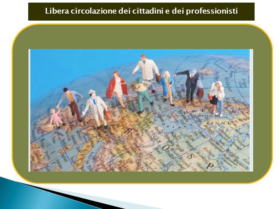 Libera circolazione dei cittadini e dei professionisti