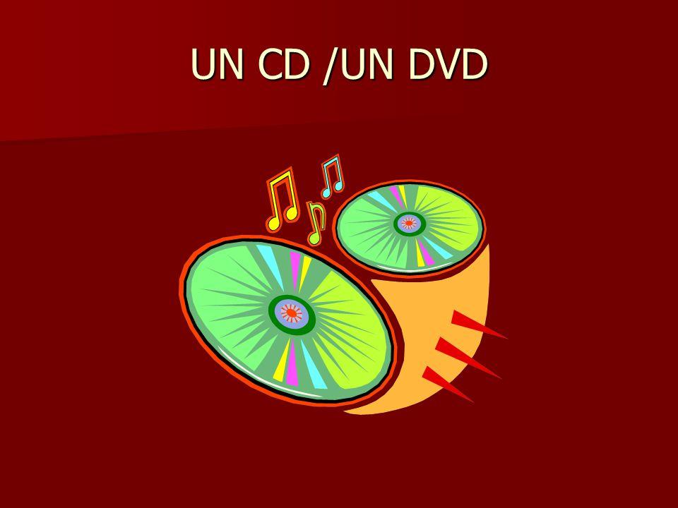 UN CD /UN DVD
