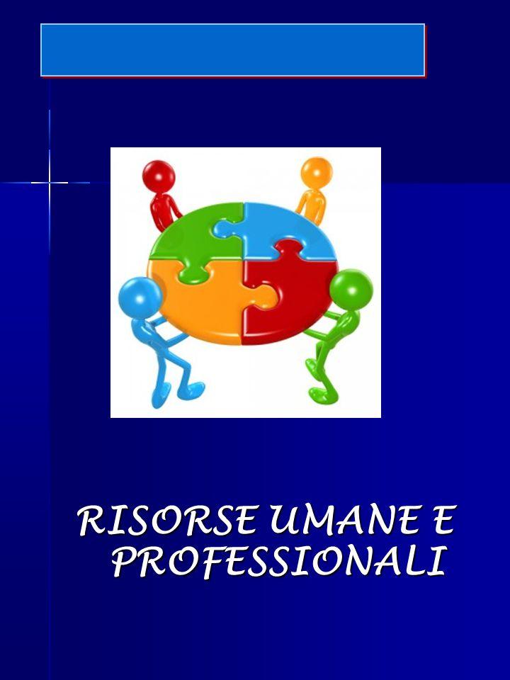 RISORSE UMANE E PROFESSIONALI