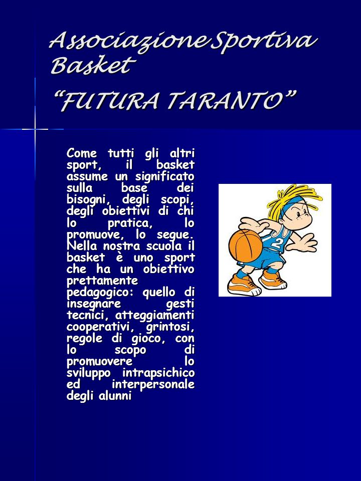 Associazione Sportiva Basket FUTURA TARANTO