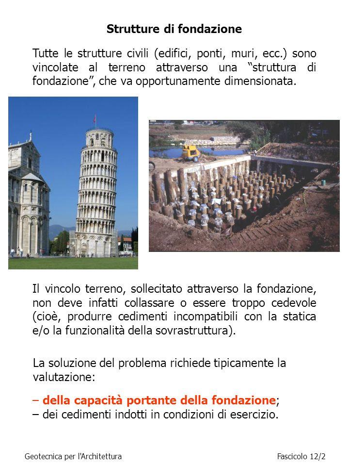 Strutture di fondazione