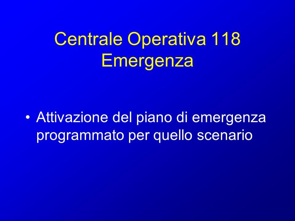 Centrale Operativa 118 Emergenza