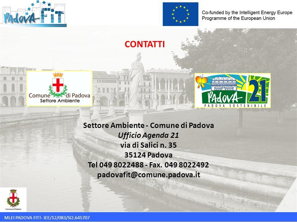 Settore Ambiente - Comune di Padova