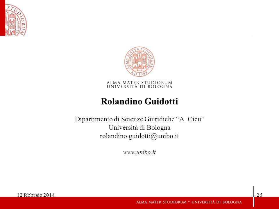 Dipartimento di Scienze Giuridiche A. Cicu