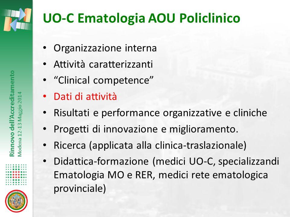 UO-C Ematologia AOU Policlinico