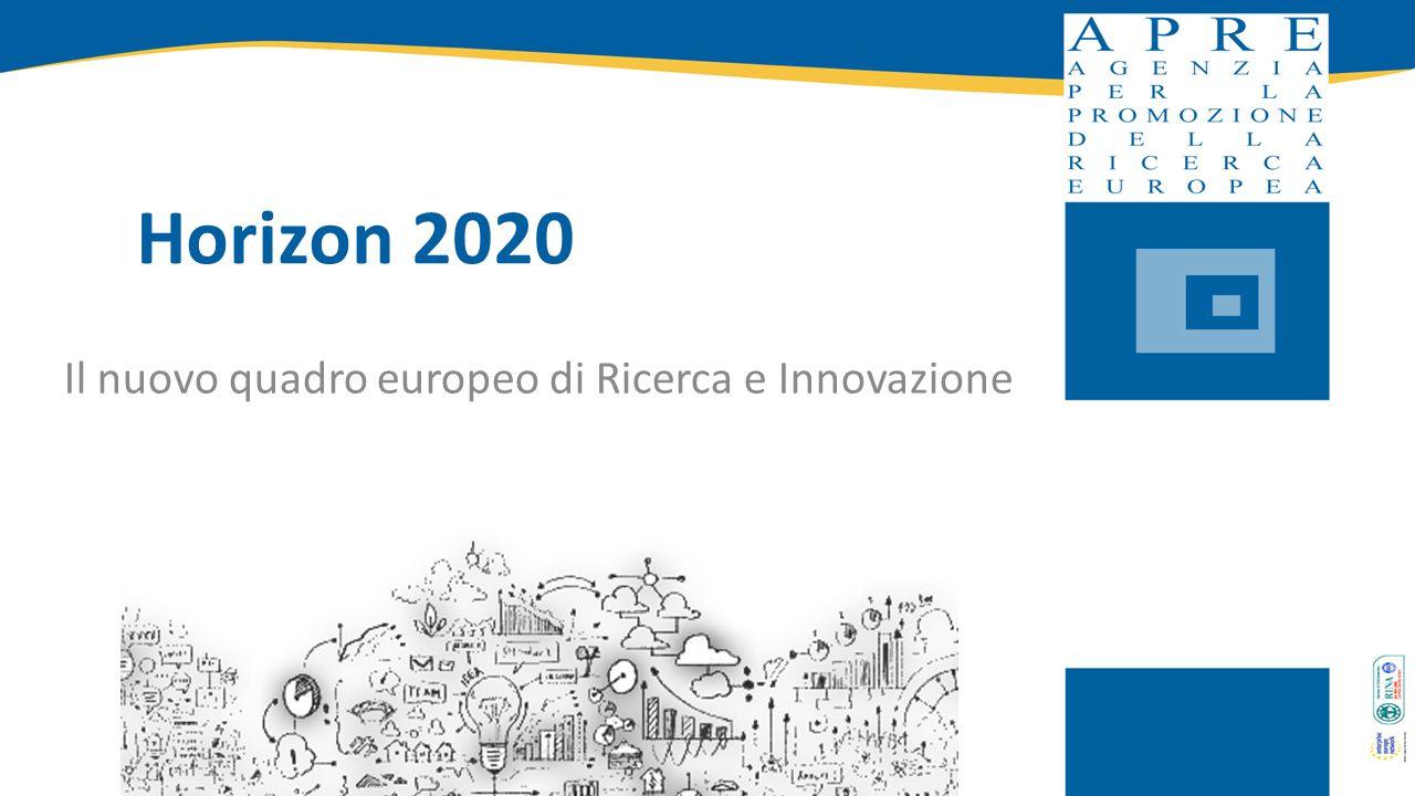 Il nuovo quadro europeo di Ricerca e Innovazione