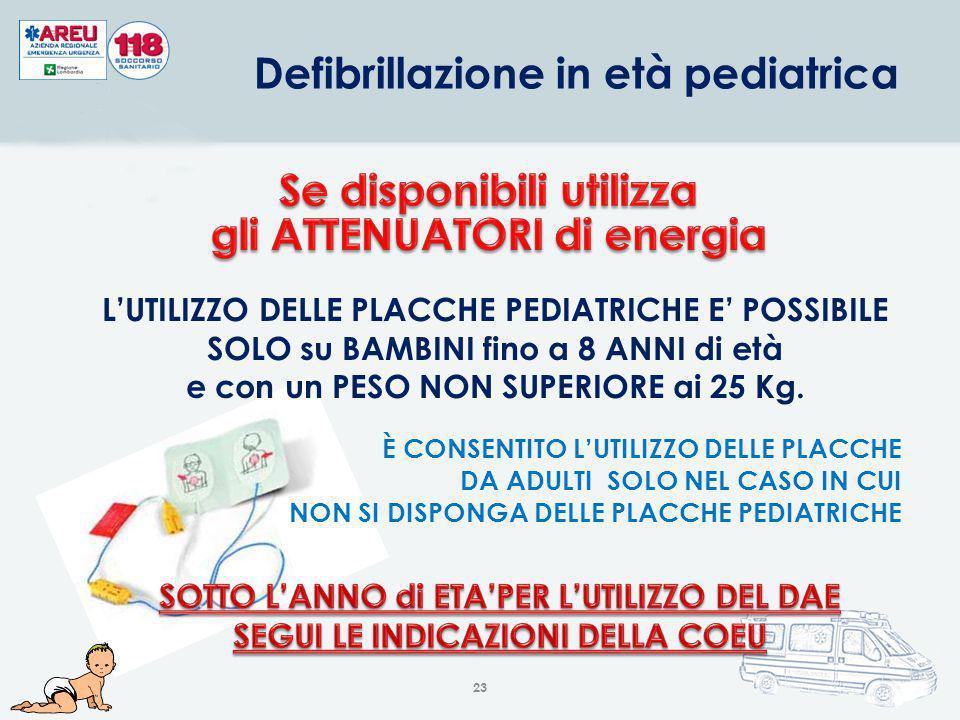 Defibrillazione in età pediatrica