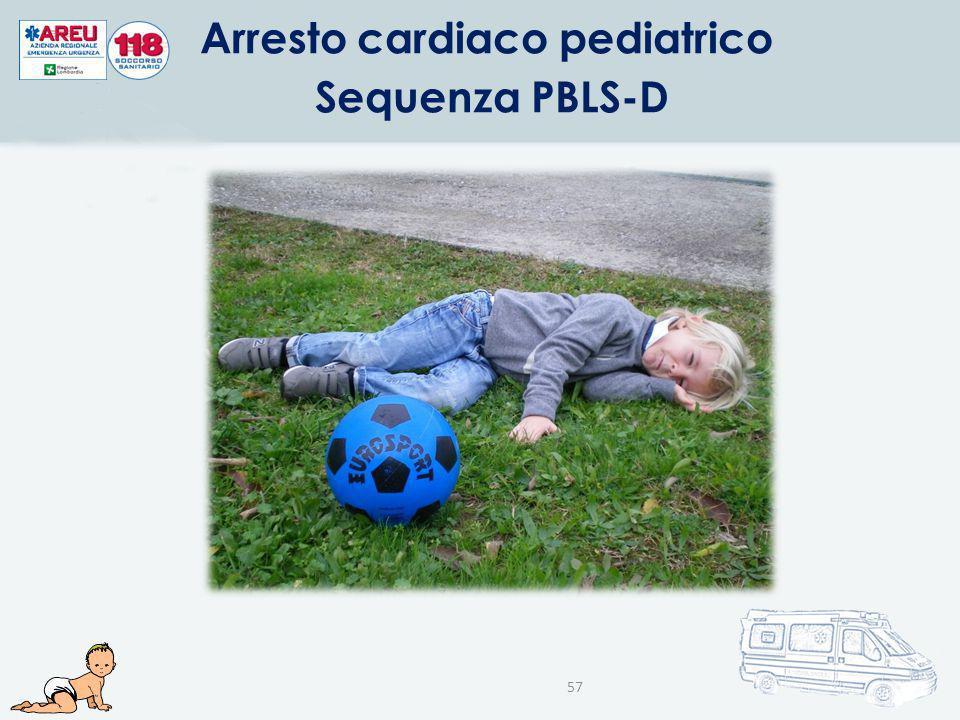 Arresto cardiaco pediatrico