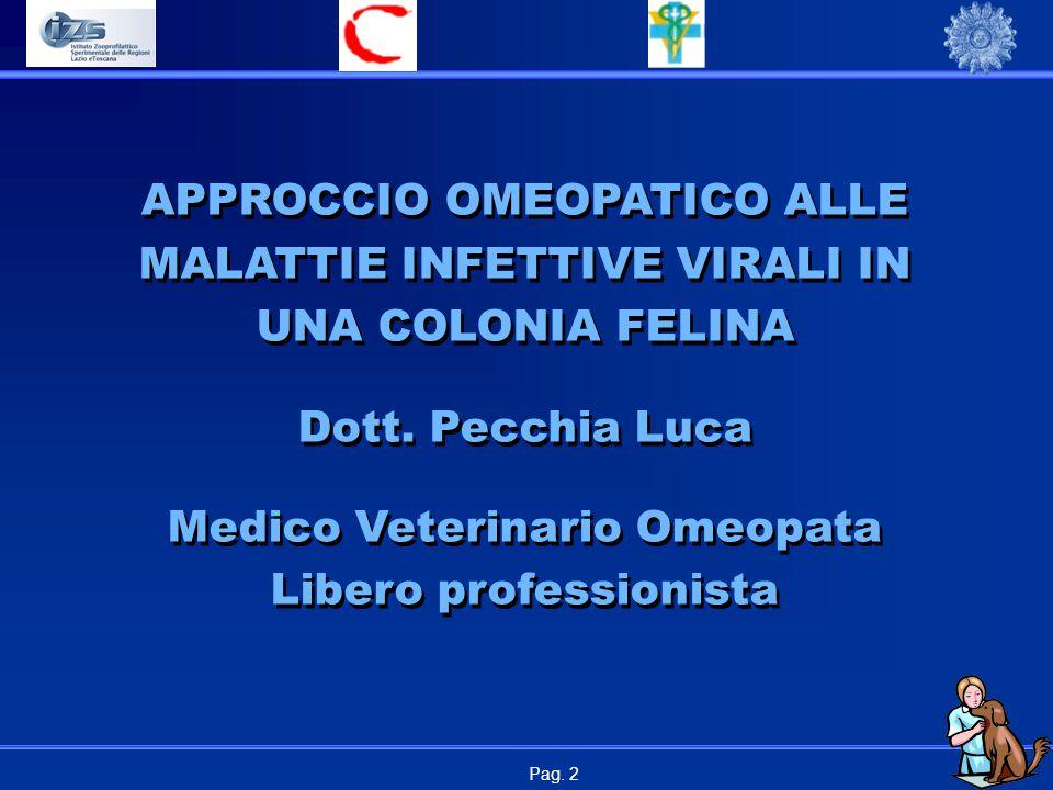 Medico Veterinario Omeopata Libero professionista