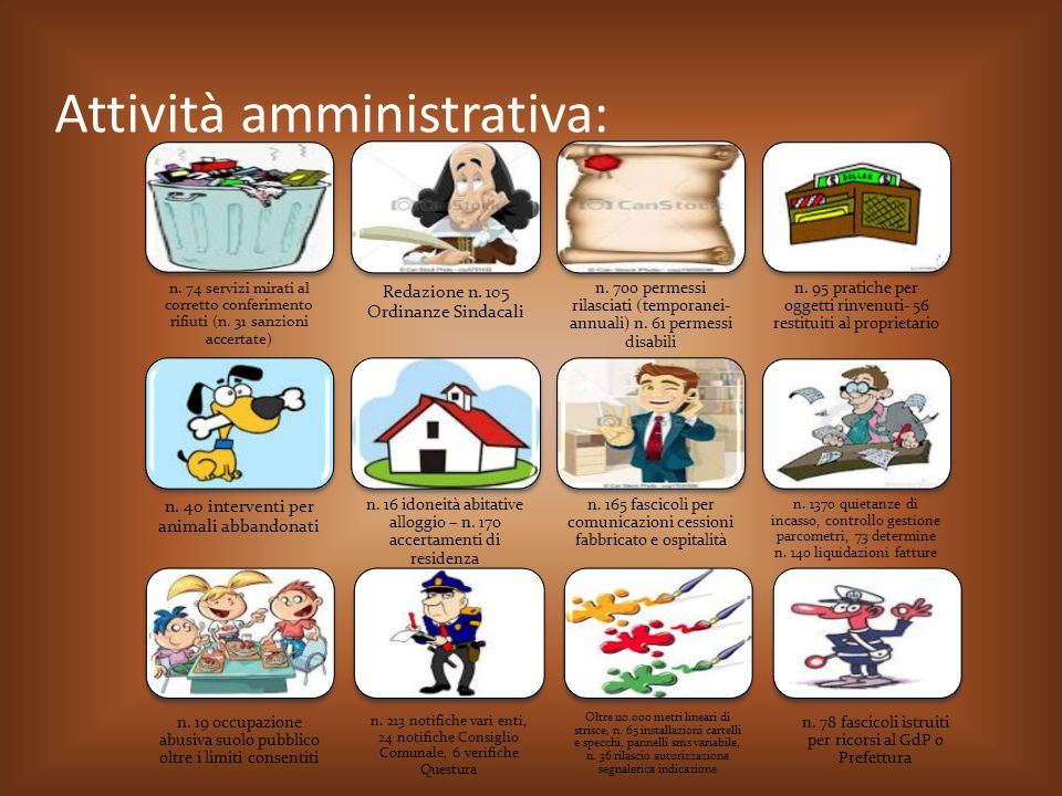 Attività amministrativa: