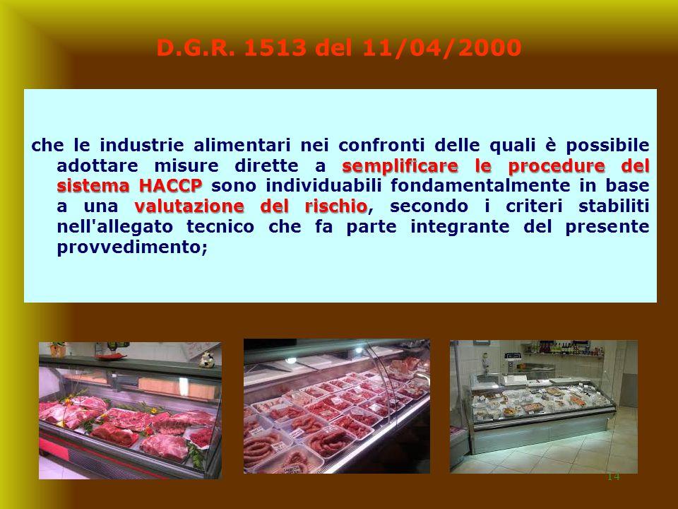 D.G.R. 1513 del 11/04/2000