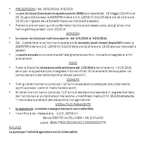 Banca CREDITO VALTELLINESE – AG. 8 MILANO