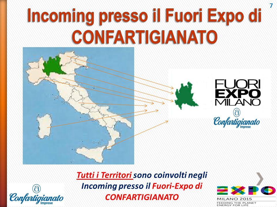 Incoming presso il Fuori Expo di CONFARTIGIANATO
