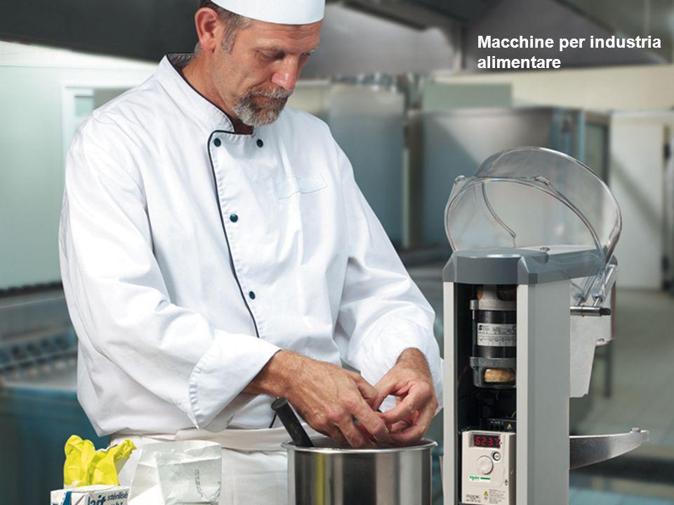 Macchine per industria alimentare