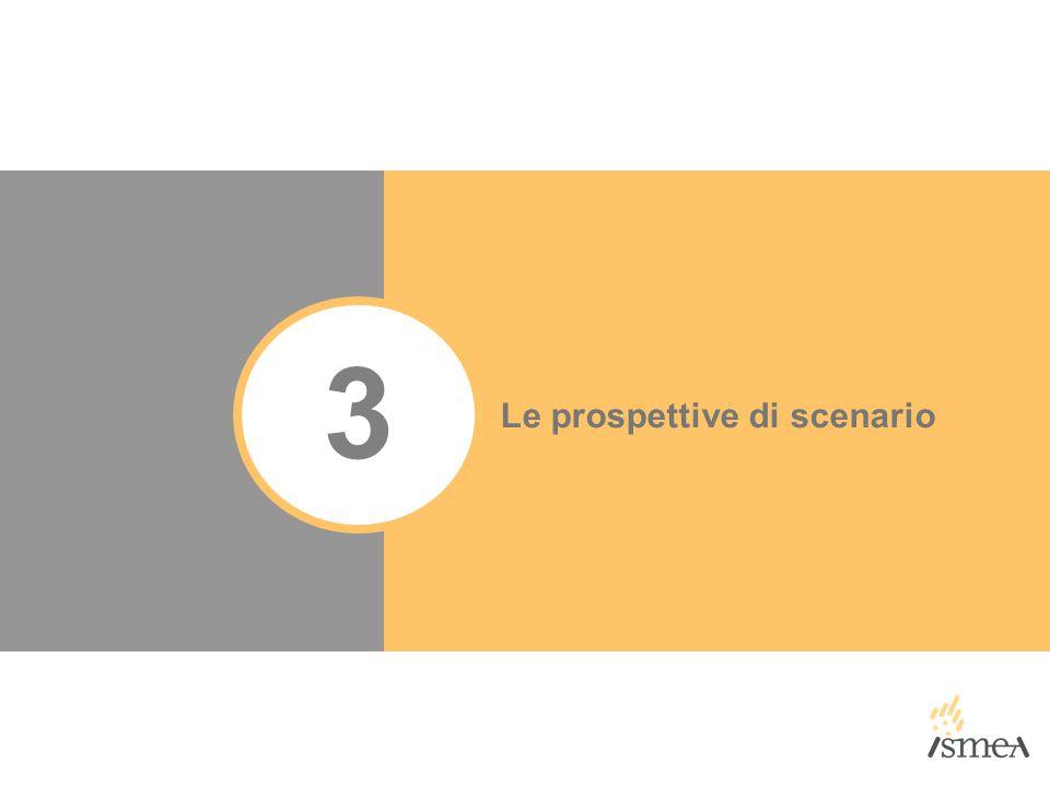 3 Le prospettive di scenario