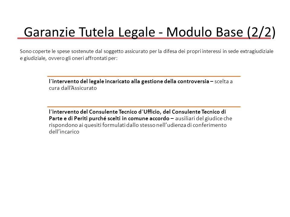 Garanzie Tutela Legale - Modulo Base (2/2)