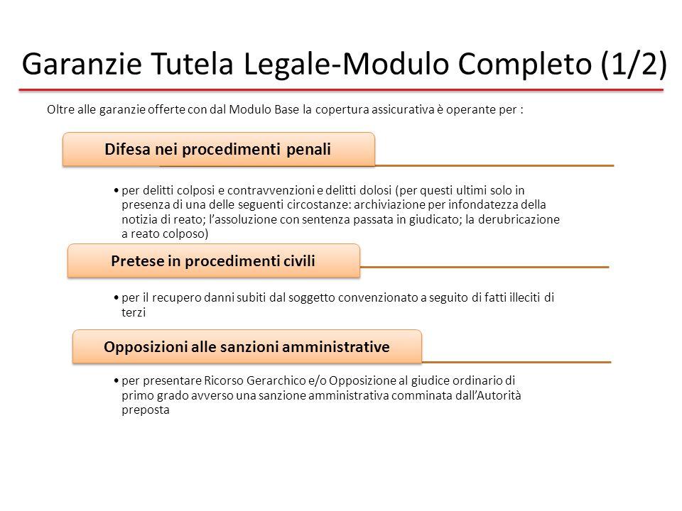 Garanzie Tutela Legale-Modulo Completo (1/2)