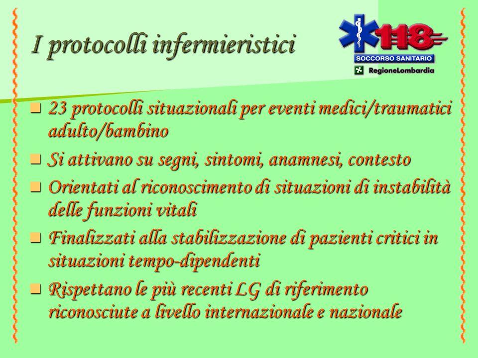 I protocolli infermieristici