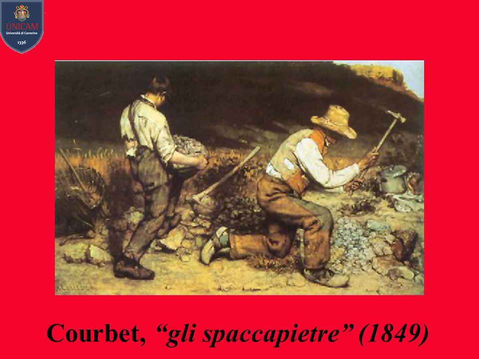 Courbet, gli spaccapietre (1849)