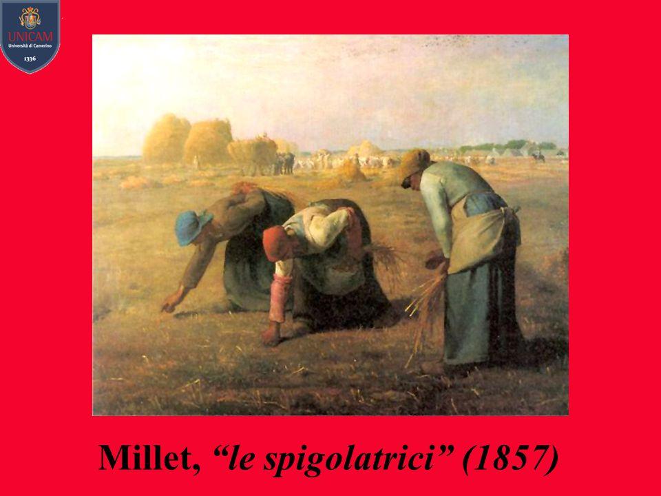 Millet, le spigolatrici (1857)