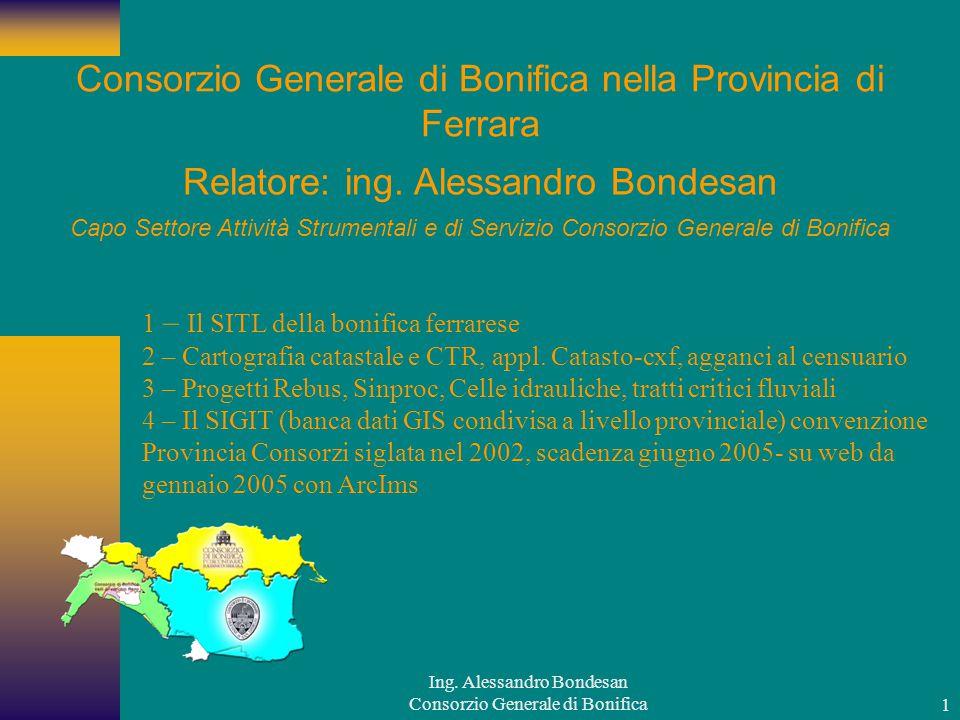 Consorzio Generale di Bonifica nella Provincia di Ferrara