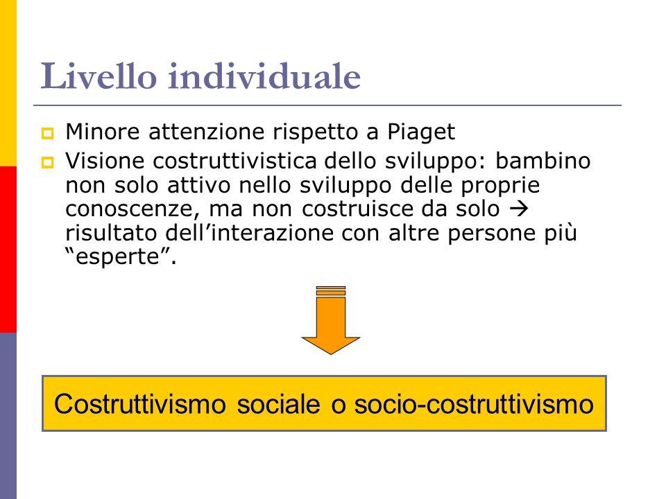 Costruttivismo sociale o socio-costruttivismo