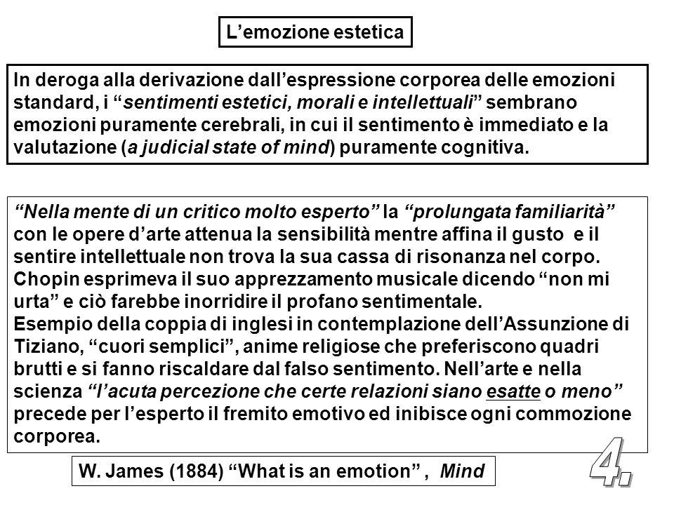 L'emozione estetica