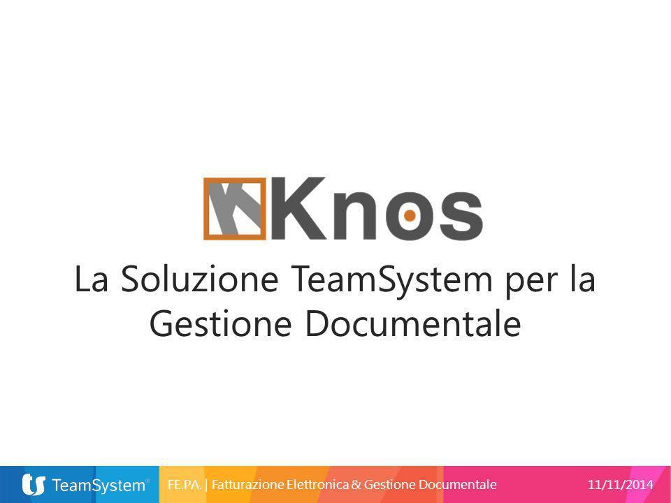 La Soluzione TeamSystem per la Gestione Documentale