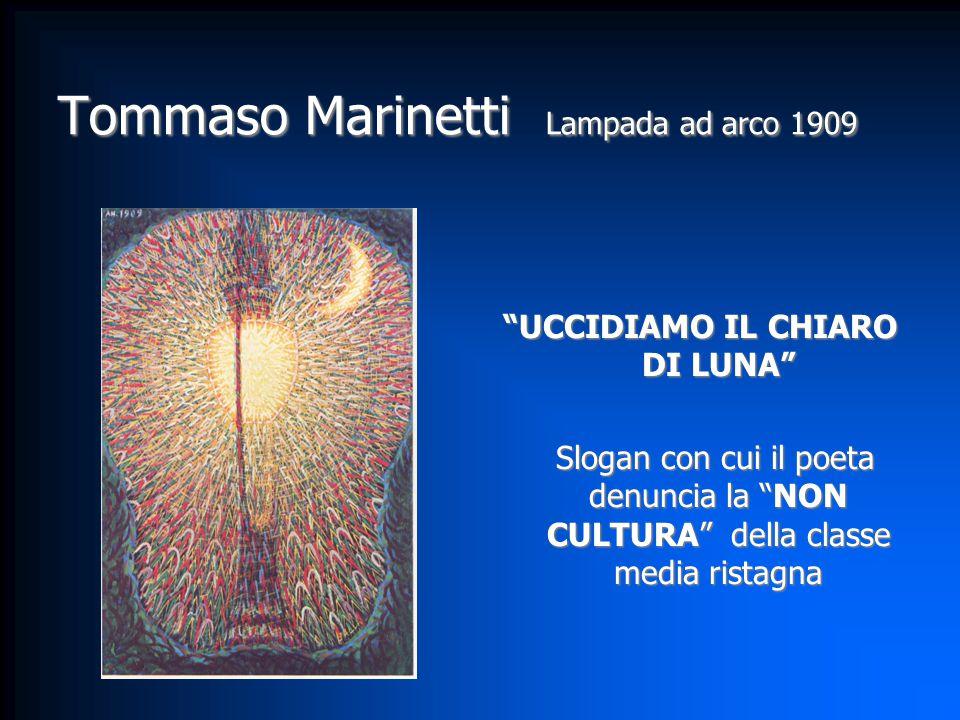 Tommaso Marinetti Lampada ad arco 1909