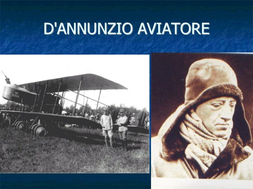 D ANNUNZIO AVIATORE
