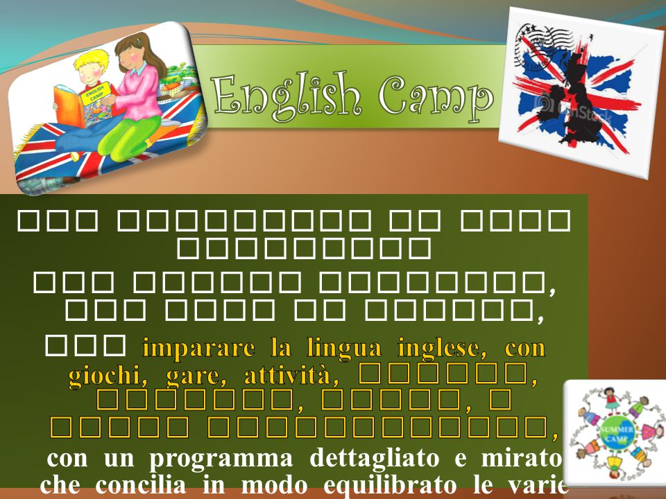 English Camp Due settimane di full immersion