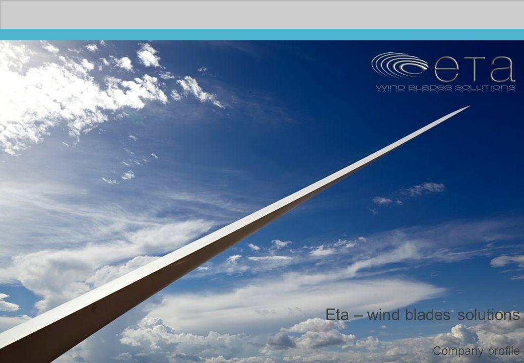 Eta – wind blades solutions