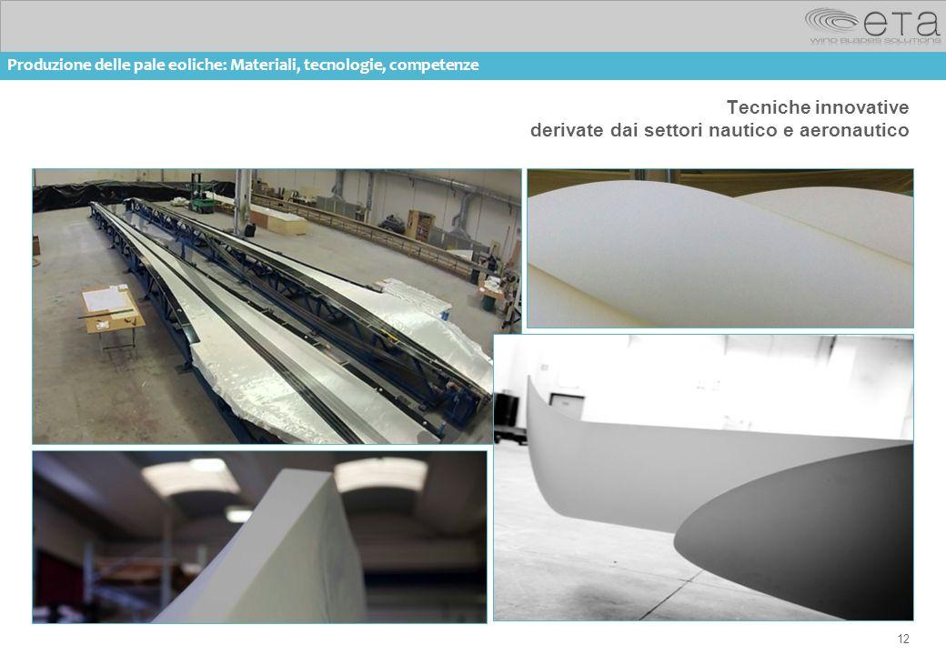 Tecniche innovative derivate dai settori nautico e aeronautico