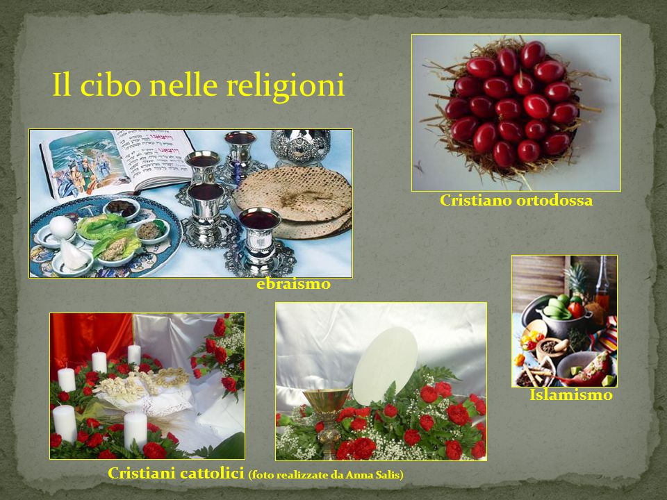 Il cibo nelle religioni