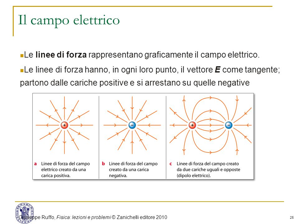Giuseppe Ruffo, Fisica: lezioni e problemi © Zanichelli editore 2010