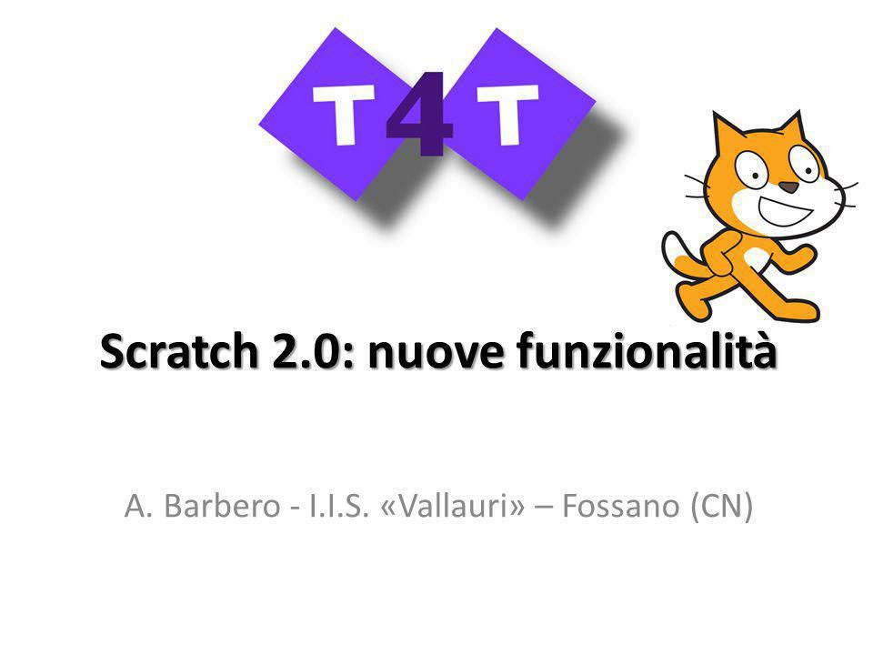 Scratch 2.0: nuove funzionalità