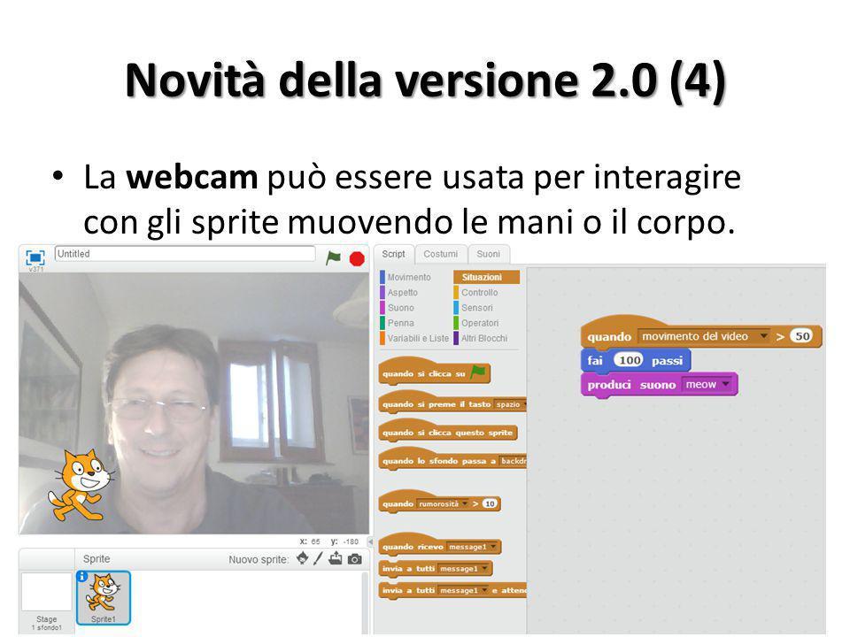 Novità della versione 2.0 (4)