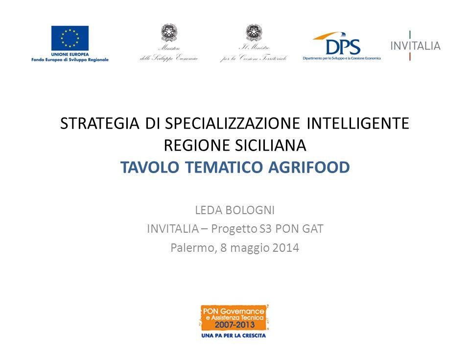 LEDA BOLOGNI INVITALIA – Progetto S3 PON GAT Palermo, 8 maggio 2014